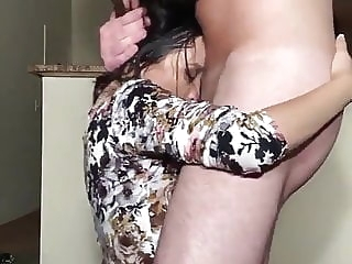 amateur Fuck hard or stay home blowjob