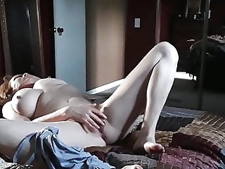amateur Caught masturbating pt 2 fingering