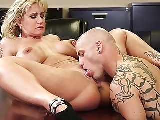 office Ryan Conner Busty Milf In Office pussy licking