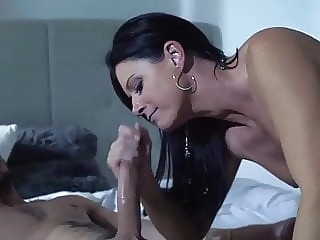 brunette Mother Fuckers IV cumshot