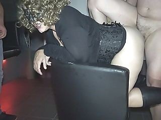 amateur Jessica used by over 10 strangers at a porn theater blonde
