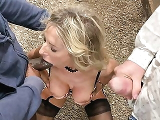 hardcore Sharing Mature HOT! Wife With BBC! - BlackedPL stockings