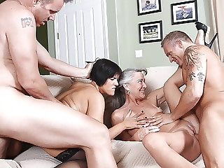 amateur Partner Swap blowjob